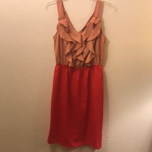 Mossimo Dress With Ruffle Top